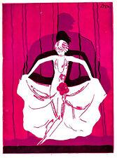 """""""La Creole"""" JOSEPHINE BAKER Jacques Offenbach 1934 Theatre Marigny Paris Program"""
