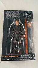 "Star Wars Black Series Anakin Skywalker #12 6"" ORIGINAL Orange MIB 2013 RARE"