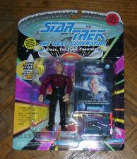 "Star Trek CAPT JEAN-LUC PICARD 4.5"" Action Figure 1993 5+ Carded Playmates"