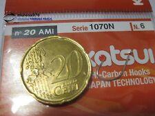 1 CONFEZIONE DA 20 AMI KATSUI SERIE 1070N n.6 PESCA -MU129