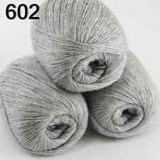 3 Skeins Mongolian Pure Cashmere Wrap Shawls Hand Knitting Wool Yarn 02