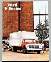 ORIGINAL 1977 FORD F-SERIES TRUCK BROCHURE ~ F600 - F800 ~ 8 PAGES ~ 77FORDF