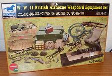 Bronco WWII British Airborne Weapon & Equipment set model kit AB3567 1/35