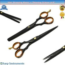 Professional Hair Cutting+Thinning Scissors Salon Barber Shears Hairdressing Set