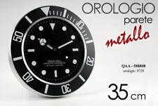 Orologio da Parete Muro metallo ROLEX Vari Modelli 35 cm