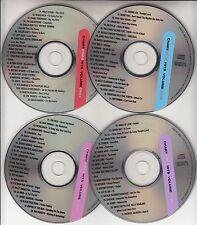 4 VCD's EMINEM PINK TAYLOR SWIFT NICKELBACK BLACK EYED PEAS BRITNEY SPEARS U2