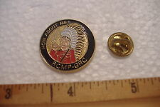 ~HOW ABOUT ME?~RCMP-GRC~MOUNTIE INDIAN CHIEF~TIE-TAC PIN~