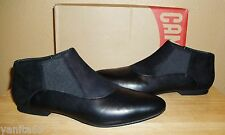 CAMPER Vero Black Leather/Nubuck Womens Slip-on Shoes New EU 40 /US 9.5- 10