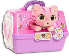 Doc Mcstuffins Pet Carrier Hospital Play Set Toy Plush Cat Kids Toddler Dr New