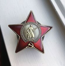 """ORDER OF THE RED STAR"" MEDAL WW2 USSR RUSSIAN SOVIET"