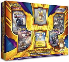 Alolan Raichu Figure Collection Box Sealed Pokemon Trading Card Game TCG 4 Packs