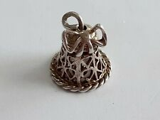 VINTAGE STERLING SILVER BELL CHARM