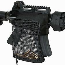 Large Tactical .223 System AR Brass Shell Catcher Mesh Bag Picatinny Weaver Rail