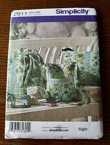 Simplicity Sewing Craft Pattern #2911 Uncut/Unused