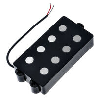 Belcat 4 String Bass Humbucker Double Coil Pickup Black for Bass Electric Guitar