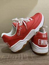 Patrick Ewing Low Men's 11 Fiery Red/White/Gum 1EW90126-614 Sneakers Shoes