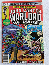 John Carter Warlord of Mars #8 (Jan 1978, Marvel) Vol #1 Newsstand VF+