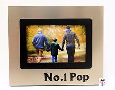 No 1 Pop Stubby Cooler Holder Birthday Present Father's Day Gift