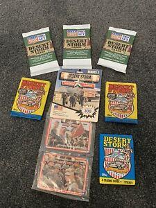 Vintage Trading Cards - Desert Storm Assorted Packs - Sealed Packs
