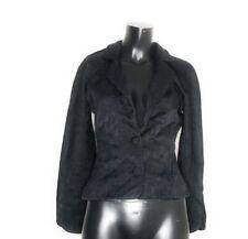 Giorgio Armani Le Collezioni Silk Coat Blazer Size 42