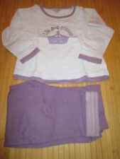 Pyjama violet 2pces,T3-4ans,marque Tex Kids,TBE