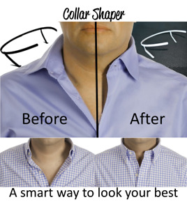 THE ORIGINAL Adjustable Shirt Collar Support | NO FLIMSY PLASTIC AS COPYCATS