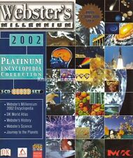 Websters Millenium PLATINUM ENCYCLOPEDIA x5 CDs NEW Box
