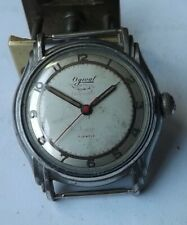 Ogival 17J automatic mans watch s.s. back...working