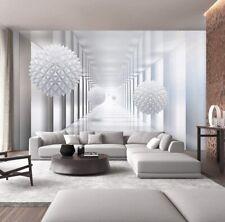 Sumgar 3D Ball Wallpaper Mural Infinity White Beige For Living Room Dining Nib