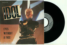"""BILLY IDOL 'Eyes Without A Face' 1984 GERMAN PS VINYL 7""""/45"""