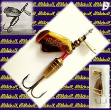 Vintage Spinner Mitchell Cuiller 9gr Single-Blades Gold New in Card