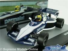 BRABHAM BT52B RACING CAR MODEL 1:43 SCALE FORMULA ONE 1 IXO AYRTON SENNA 1983 T3