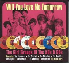 Girl Groups Of The 50s & 60s - Will You Love Me Tomorrow (2CD 2016) NEW/SEALED