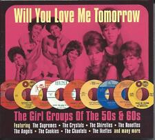 The Girl Groups Of The 50s & 60s - Will You Love Me Tomorrow 2CD NEW/SEALED