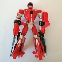 Power Rangers Bandai 2006 Red Power Ranger - Transformer
