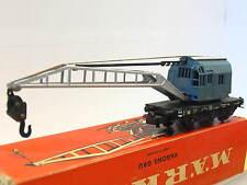 Märklin 4611 Kranwagen Krupp Ardelt blau DB OVP (Q6774)