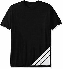 Nwt Mens $40 Onzie Yoga Graphic Tee Shirt In Black & White sz S/M