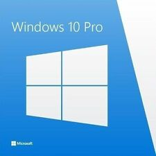 Microsoft Windows 10 Professional MS Win 10 Pro 32/64 Bit Pro Vollversion
