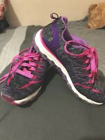 Skechers Skech-Air Memory Foam Athletic Sneakers Youth Girls Size 2 PREOWNED