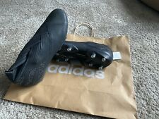 BNWOB Adidas Nemeziz 19+ SG Football Boots. Core black/black Size 8.5 UK.