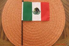 "Bandera Mexico Desk Flag 4"" x 6"""