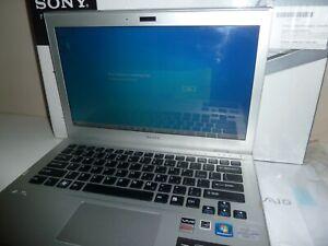 Sony Vaio Laptop SVT13116FGS I7 1.90Ghz 12gb Ram Samsung 250GB SSD Win 10 In Box