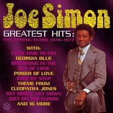 Joe Simon - Greatest Hits: The Spring Years (CDSEWD 102)
