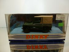 DINKY TOYS DY-9 LAND ROVER 1949 - GREEN 1:43 - VERY GOOD IN BOX