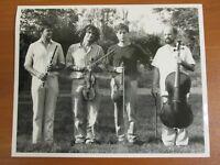 Vintage Glossy Press Photo Kuijken Musical Quartet Barthold Sigiswald Francois