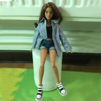 3pcs Cute Doll Clothes Suit for Blythe 1/6 BJD Dolls Casual Wear Accessory