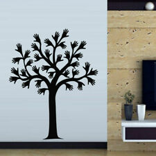Wall Decal Sticker Vinyl Tree Branch Plant Hand Brush Palm Bedroom M504