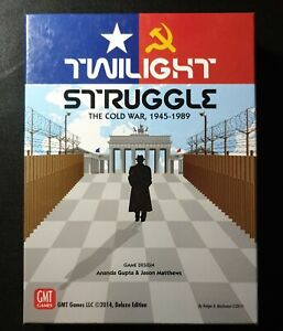 Twilight Struggle The Cold War 1945-1989 GMT Board Games 2014 UNPUNCHED