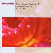 Dvorak Symphonies nos. 7 & 8 Andrew Davis Philarmonia Orchestra Sony Records CD