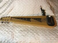 Vintage Supro Student Deluxe Lap-steel with Original Case
